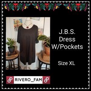 J.B.S | DRESS WITH POCKETS